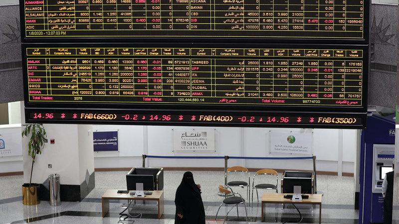 مؤشر سوق أبوظبي للأوراق المالية صعد بنسبة 0.67%.  أرشيفية