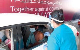 الصورة: «الصحة»: انخفاض معدلات الإصابة بـ «كورونا» داخل الدولة