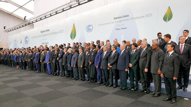 قمة المناخ فشلت حتى الآن في الالتزام بالمعايير الحرارية والبيئية التي حددتها.  أرشيفية