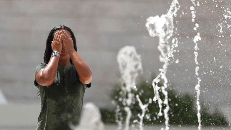 الحرارة تهدّد باجتياح أوروبا وزيادة عدد الوفيات.  أرشيفية