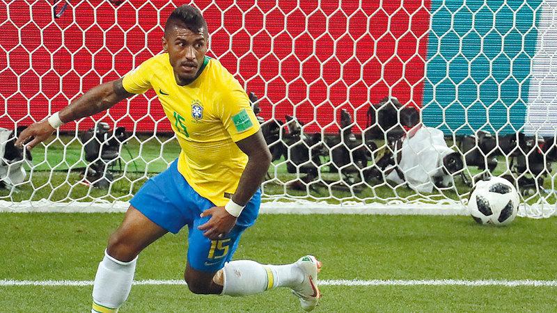 البرازيلي باولينيو.    إي.بي.إيه