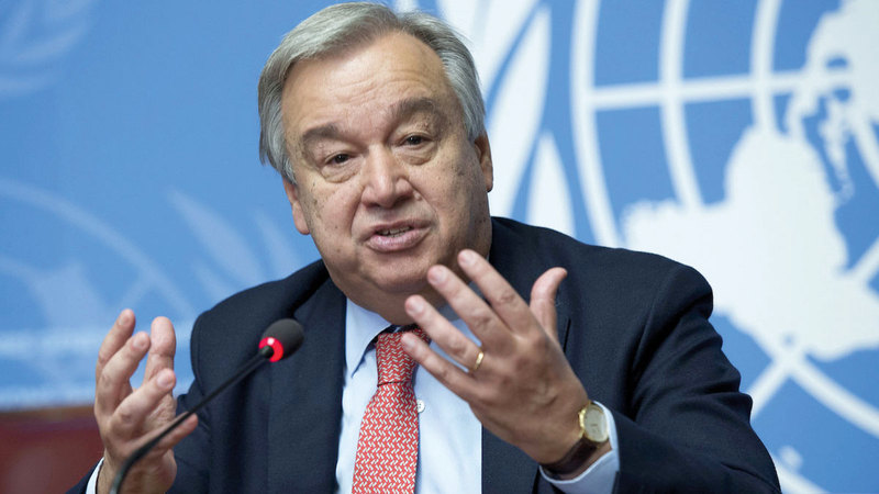 غوتيريس قال إن عدم تمديد قرار مجلس الأمن ستكون له تداعيات كارثية.  أرشيفية