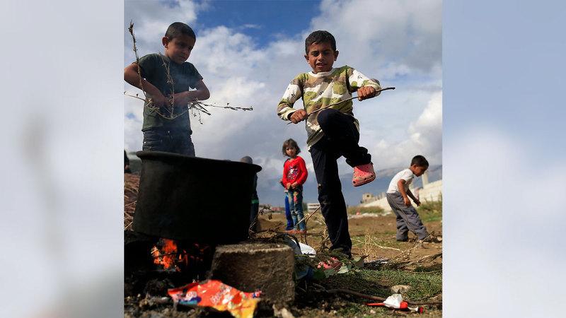 مليون سوري مهددون بالجوع.  أرشيفية