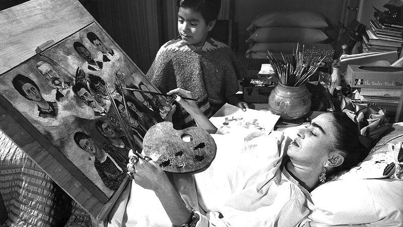 فريدا كالو تعرّضت لحادث مروّع أثّر في مسار حياتها.  أرشيفية