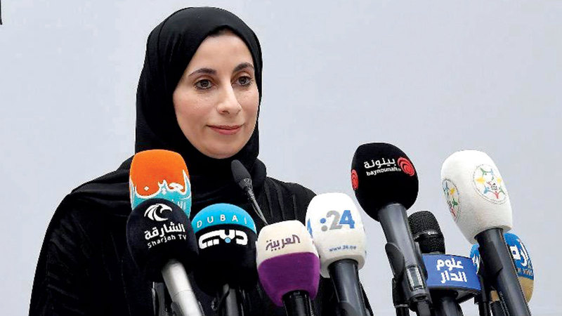 الدكتورة فريدة الحوسني: «الإمارات كافحت الجائحة بالاستعداد والتأهب وتأهيل فرق الاستجابة».