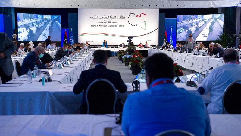 ملتقى الحوار الليبي في جنيف أخفق في الاتفاق على الانتخابات وفتح الوضع الليبي على كل الاحتمالات.  أرشيفية