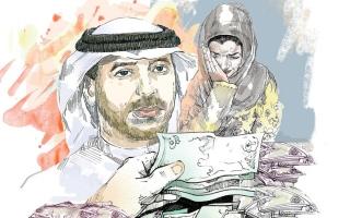 الصورة: «عمر» يحتاج إلى 600 ألف درهم للعودة إلى أسرته