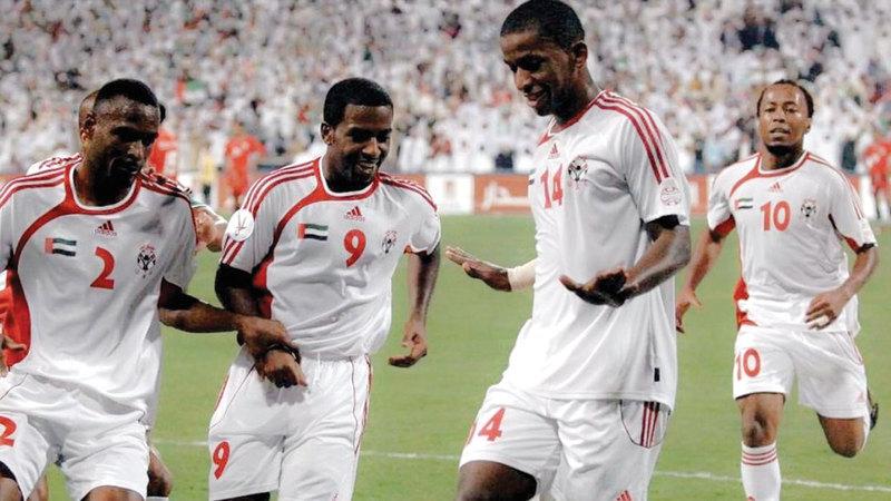 بشير سعيد لعب سنوات عديدة مع المنتخب الوطني.   من المصدر