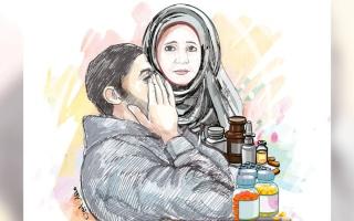الصورة: «علي» يعجز عن سداد 54 ألف درهم فاتورة علاج والدته المتوفاة