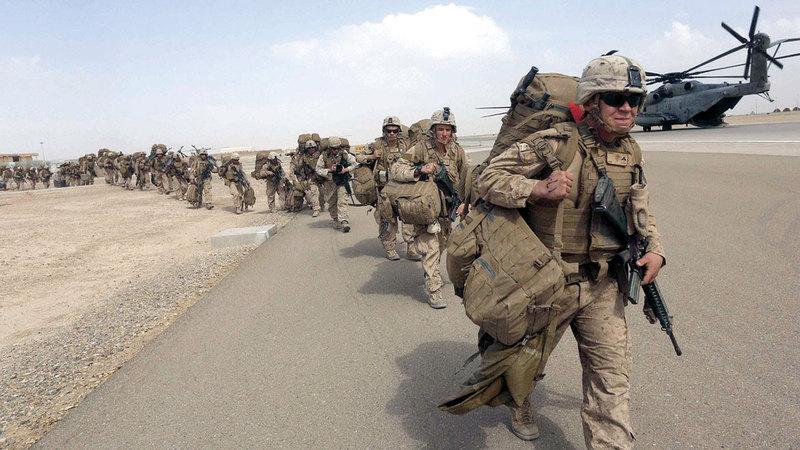 انسحاب القوات الأميركية من أفغانستان.  أرشيفية