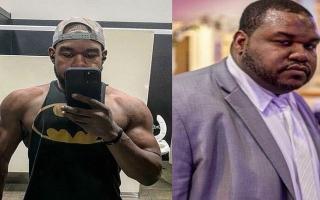 الصورة: بالفيديو.. أميركي يخسر 100 كلغم من وزنه ويتحول إلى بطل في كمال الأجسام