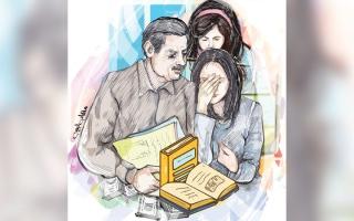 الصورة: 14 ألف درهم متأخرات دراسية لـ «جودي وسدرة»