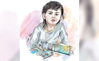 الصورة: متبرّع يتكفل بـ 15.7 ألف درهم كلفة علاج الطفلة «فرح»