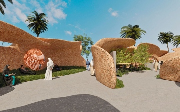 الصورة: جناح «دبي للاستثمارات الحكومية» في «إكسبو 2020».. متنفس للراحة