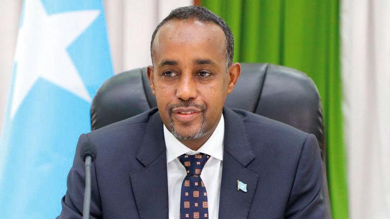 رئيس الحكومة الصومالية محمد حسين روبل كشف النقاب عن جدول زمني من أجل الانتخابات البرلمانية والرئاسية غير المباشرة.   أرشيفية