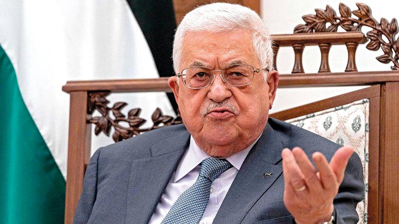 عباس قام بإلغاء الانتخابات التي كانت مقررة مايو الماضي في فلسطين لأسباب واهية.   أ.ف.ب