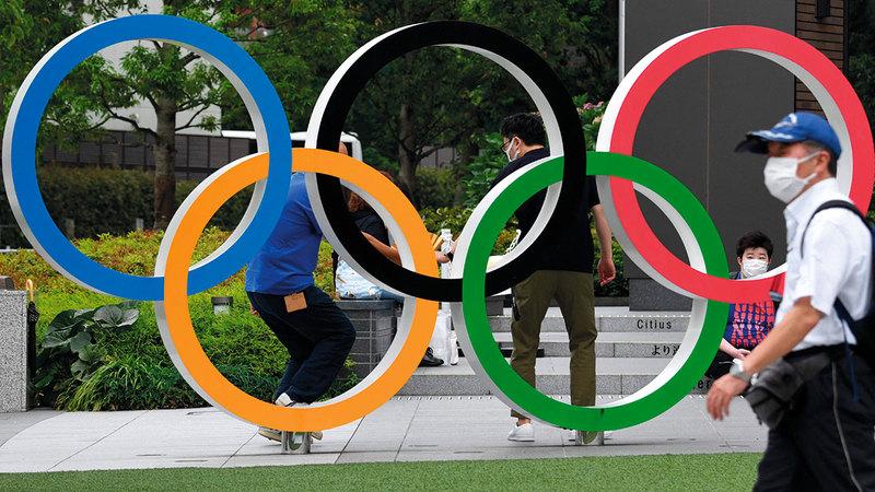 طوكيو أنهت استعداداتها لاستقبال الأولمبياد.   رويترز