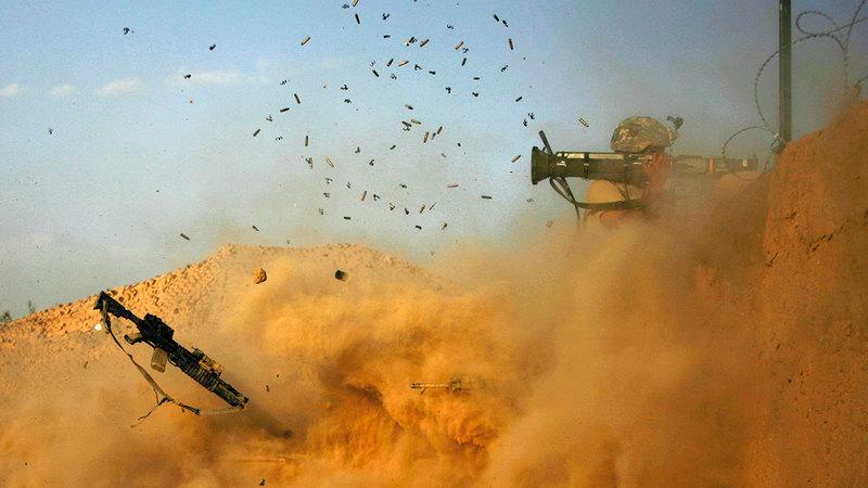 خروج القوات الأميركية من أفغانستان سيمكن «طالبان» من السيطرة على البلاد. أ.ف.ب