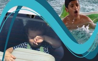 الصورة: شرطة أبوظبي تحذّر من مخاطر إهمال الأطفال