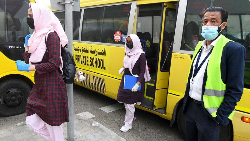 نسبة النجاح في المدارس الحكومية بلغت 91%.   أرشيفية