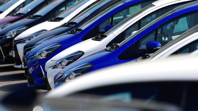 شركات أكدت أن النصف الأول من العام الجاري كان استثنائياً بالنسبة لمبيعات السيارات.   أرشيفية