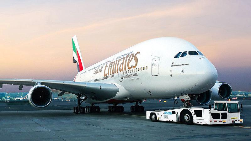 «الناقلة» أكدت أن هناك إدخالاً تدريجياً لطائرات «إيه 380» إلى الخدمة.   من المصدر