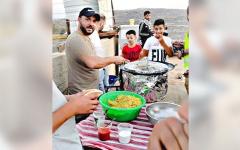 الصورة: «فلافل الإرباك».. مشهد لتعزيز صمود الفلسطينيين في «بيتا»
