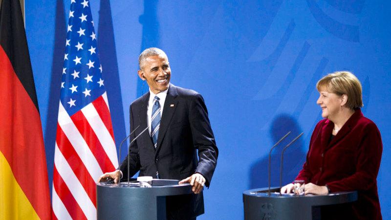 كان أوباما صديقها المقرّب.   من المصدر