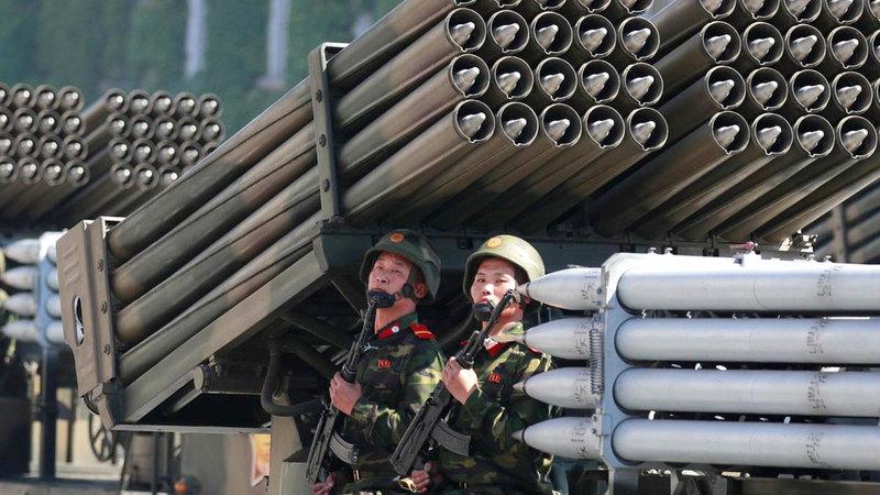 كوريا الشمالية تطوّر المزيد من الأسلحة النووية دون رادع.  أرشيفية