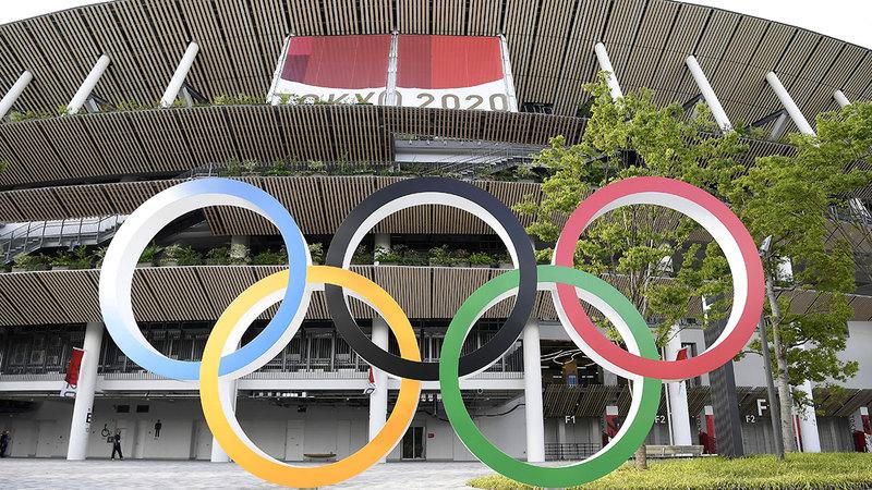 الدورة الأولمبية تنطلق بعد أسبوع.  من المصدر