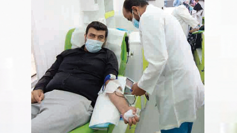 الحملة تُنفّذ بشراكة بين «الإمارات اليوم» و«الأمين» و«صحة دبي».   الإمارات اليوم