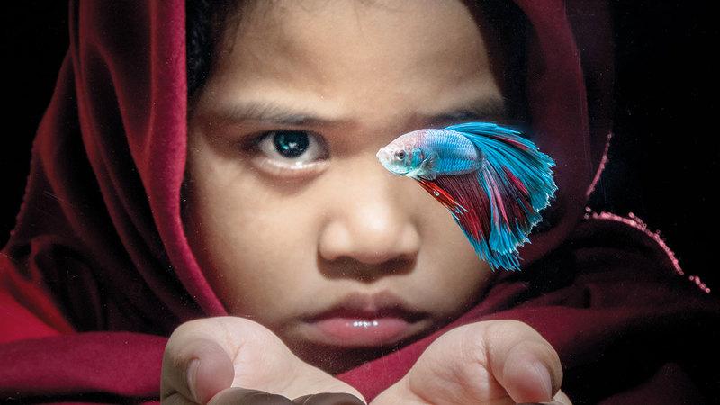صورة فائزة لميزال من إندونيسيا.   من المصدر
