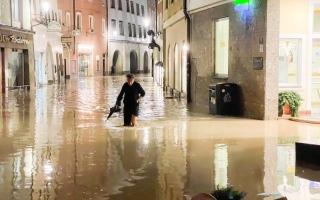 الصورة: فيضانات مدمرة في النمسا.. صور