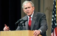 الصورة: بوش الابن يحذّر مــن «مـآسٍ» جرّاء انسحاب الأميركيين من أفغانستان