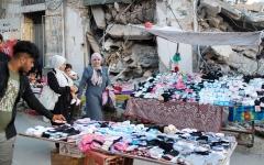 الصورة: بالصور.. بعد الحرب مع إسرائيل.. الحزن يغلف فرحة العيد في غزة