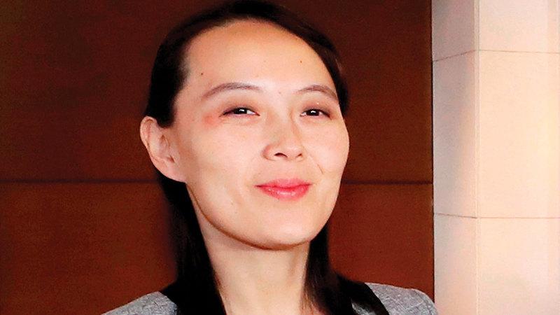 اتهمت شقيقة الرئيس الكوري بايدن بأنه أكثر عدوانية من ترامب عندما قرر استئناف المناورات العسكرية مع كوريا الجنوبية.   أ.ب