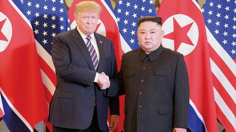 العلاقة بين ترامب وكيم كانت خاصة وفق ما ذكره رئيس كوريا الشمالية.   إي.بي.إيه