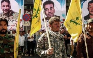 """الصورة: مسؤولون أفغان: إيران تزرع الفتنة بميليشيات """"الحشد الشيعي"""""""