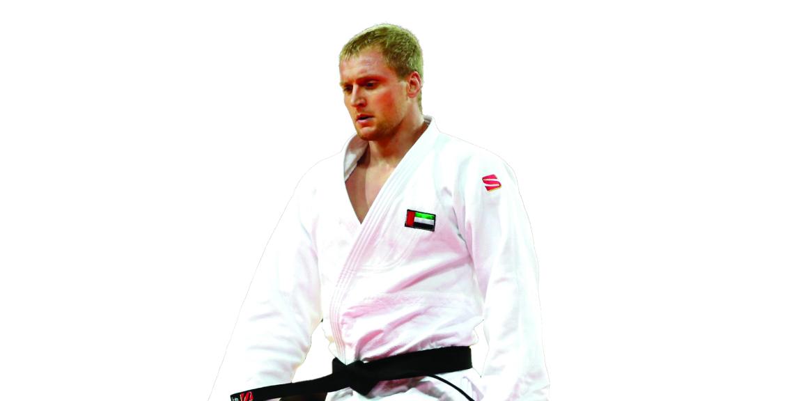 لاعب منتخب الجودو رومارينكو. من المصدر