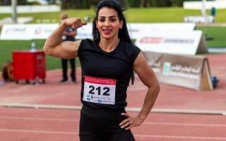 """الصورة: """"أسرع امرأة عراقية"""" ترد على اتهامها بتعاطي المنشطات وإبعادها عن الأولمبياد (فيديو)"""