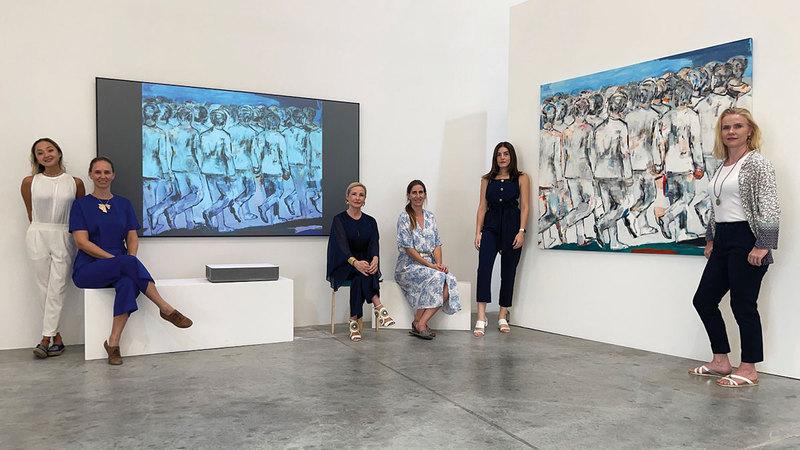 المعرض الجديد يركزعلى تسليط الضوء على استخدام التطورات التكنولوجية في المجال الفني. من المصدر