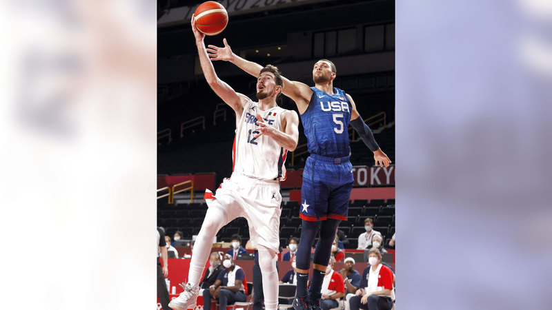 صورة أميركا تخسر من فرنسا في السلة – رياضة – عربية ودولية