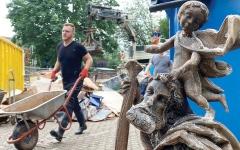 الصورة: مواطنون ألمان يُظهرون التضامن خلال كارثة الفيضانات