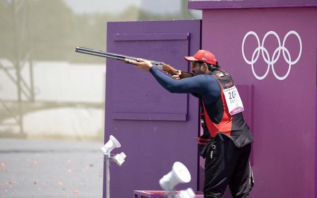 الصورة: بن فطيس ينهي الأولمبياد بالمركز الـ 24.. ويوضح: «كنت الرامي والمدرب والإداري»