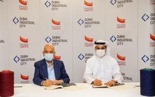 الصورة: «ستاندارد كاربتس».. أكبر مصانع السجاد في العالم يتوسع في دبي