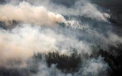 الصورة: تواصل اندلاع الحرائق شرقي روسيا والخسائر بالملايين