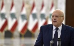 الصورة: ميقاتي يعد بتشكيل حكومة لبنانية في أسرع وقت