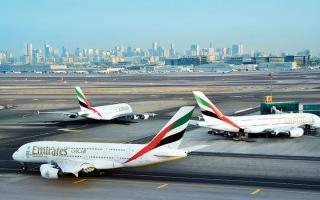 الصورة: «دبي الدولي» الأول عالمياً من حيث السعة المقعدية لكل رحلة