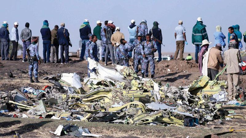 «737 ماكس» تعرضت إلى حادثين خلّفا 346 قتيلاً في 2018 و2019.   أرشيفية