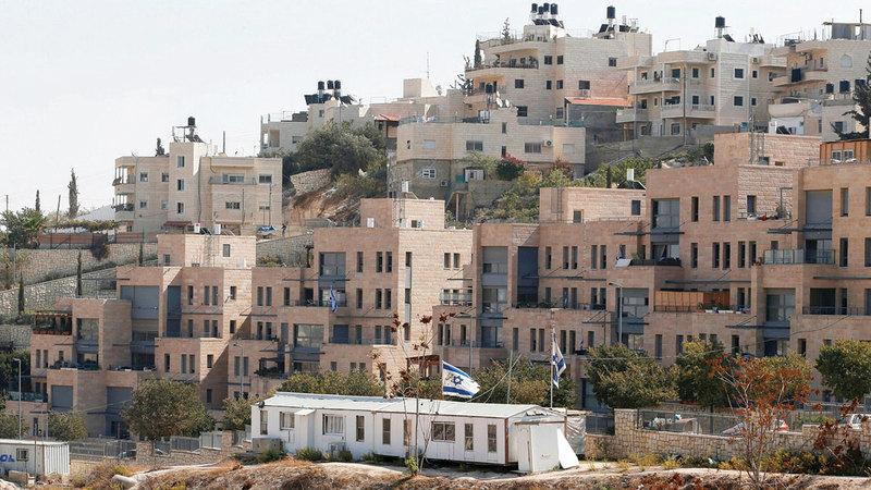 الاحتلال سيوصل «نوف تسيون» بالمستوطنات في القدس.   الإمارات اليوم